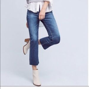The Jodi Crop Slim Fit Flare AG Jeans